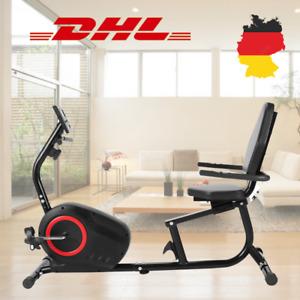 Liegeergometer Liegender Fahrradtrainer Sitz-Heimtrainer magnetischem Widerstand
