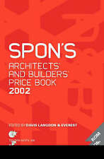 Spon's Architects' and Builders' Price Book 2002 by Langdon, Davis, Davis, Lang