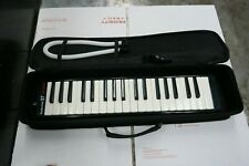 Hohner Performer 37 Melodica Black With Case, Hose & Mouthpiece Nice