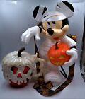 Disney 2021 Halloween Mickey Mouse Mummy Popcorn Bucket & Red Poison Apple Mug