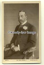 r0349 - King George V - postcard