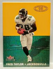 "FREE SHIPPING *FRED TAYLOR* 2000 FLEER TRADITION ""THE WHOLE TEN YARDS"" INSERT !"
