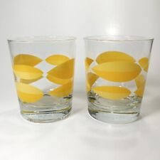 2 Ikea 8 oz juice glass bar drinking glasses glassware, retired, made in Poland