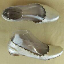 Chloe Scalloped Lauren US 6.5 EU 36.5 Ballet Flat Slip On Leather