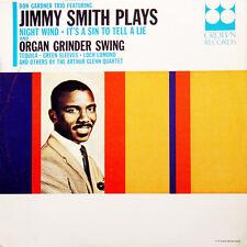 JIMMY SMITH Plays, Arthur Glenn Quartet US Press Crown CLP 5469 Mono LP