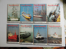 Sea Breezes Magazines 1990  8 copies