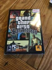 Grand Theft Auto: San Andreas PC First Edition Hot Coffee Adults Only RARE~NEW