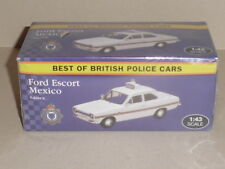 BEST OF BRITISH POLICE CARS, FORD  ESCORT MEXICO SUSSEX VANGUARD CASTINGS JA10