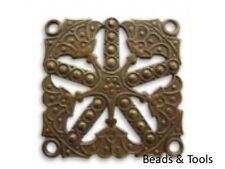 Vintaj Natural Brass Kaleidoscope Pendants Findings Aust Seller BEADS & TOOLS