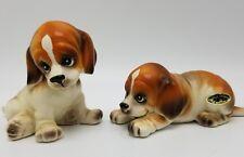 Josef Originals Beagles Porcelain 3 inch Dog Figurines