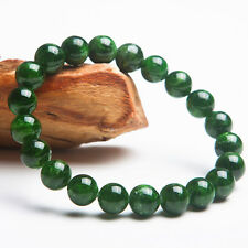 Natural Green Diopside Gemstone Round Beads Healing Bracelet AAA 9mm