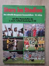 Genre PANINI Album BERGMANN Stars Im Stadion 1981-1982 81/82 Bundesliga FOOTBALL