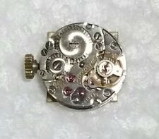L.U. CHOPARD & CIE GENEVE WATCH MOVEMENT 17 JEWELS W. GOLD CROWN, DIAL, HANDS