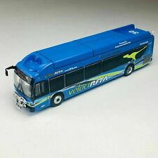Iconic Replicas 1//87 NFI XN40 Xcelsior Passenger Bus DDOT DETROIT87-0258