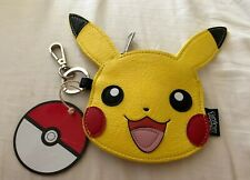 Authentic Pokémon Pikachu Zippered Keychain Purse