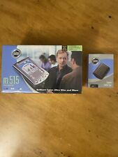 Palm Pilot m515 Handheld Organizer - Factory Sealed With Brand New Case