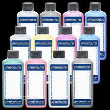 12 x 250ml pigment refill ink kit for HP 70 HP70 DesignJet Z3100 Z3200 cartridge