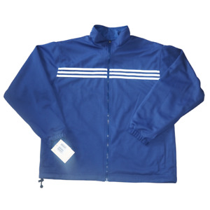 Adidas Salomon 3-Stripes Mens Windbreaker Jacket Reversible Blue 256099 XL New