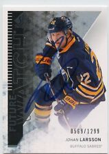JOHAN LARSSON SABRES AUTOGRAPH AUTO 13/14 SP AUTHENTIC FUTURE WATCH /1299 *33905