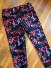 Heart Scribble- Tween- Charlie's Project Leggings- Ship Free!