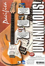 More details for pacifica 112 guitar advert by yamaha guitars - 1999 advertisement