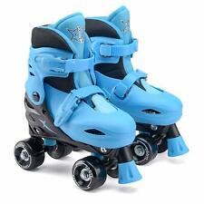 Xootz Kids Quad Skates Blue Adjustable UK Sizes 9-12