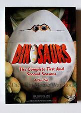 Sinclair Family Dinosaurs TV Show Seasons 1 & 2 on DVD Jim Henson Sitcom