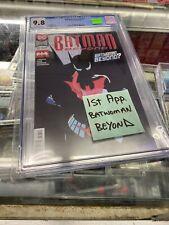 BATMAN BEYOND #37 DC COMICS 2019 1ST APPEARANCE BATWOMAN BEYOND GRADED CGC 9.8