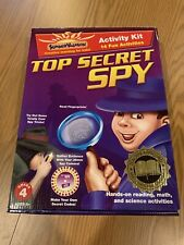 *New* Summer Vacation Top Secret Spy Activity Kit, Teacher Gold Seal Approved