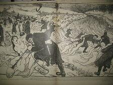 LE RIRE N° 318 CARICATURE HUMOUR DESSINS JEANNIOT GRANDJOUAN GOSé 1900