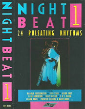 Various ‎Night Beat CASSETTE 1 ONLY ALBUM 12TRACKStylus Music SMC8501 Disco Funk