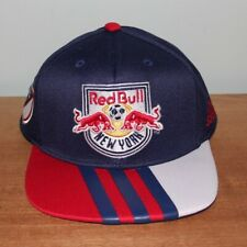 NEW Adidas New York Red Bulls Authentic Snapback Hat MLS OSFA Soccer Cap