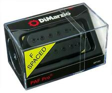 DIMARZIO DP151 PAF Pro Humbucker Guitar Pickup BLACK, F-Spaced  DP151F