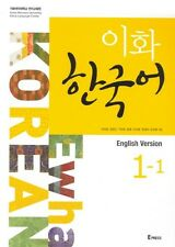 Ewha KOREAN 1-1 (English version) : Text Book New, Learn Korean Original Book