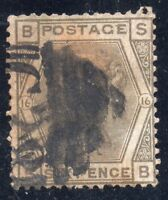 Great Britain  Sc# 62 Plate 16