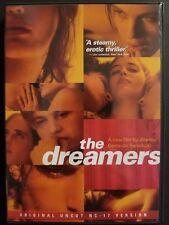The Dreamers (DVD, 2004, NC-17 Version) Michael Pitt, Eva Green, Erotic Thriller