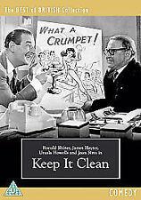 Keep It Clean [1956] [DVD] - DVD  As New