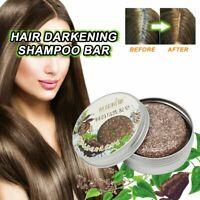 Hair Darkening Shampoo Bar Soap Hair Shampoo Polygonum Essence Hair Cleansing Y1