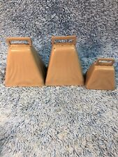 3 Bell Lot Speeco Long Distance Cow Bell - 2-13/16""