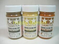 Tamiya   DIORAMA TEXTURE PAINT  Ground Effect Set of 3  # 87108 87109 87110