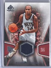 2007-2008 SP Game Used Basketball Richard Jefferson New Jersey Nets Jersey Card