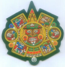 Royal Aztec Mayan Latin Eagle Star Mexico Indian Warrior Tribe Patch Badge Crest