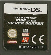 NINTENDO DS FANTASTIC FOUR RISE OF THE SILVER SURFER GAME CARTRIDGE ONLY