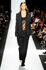 NARCISO RODRIGUEZ Black Wool Blazer With Snap Fastener Sz:44 Retail $1,995 NEW
