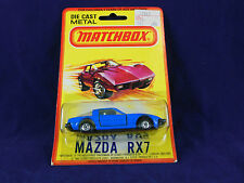 Extremely Rare Matchbox Superfast No31 Mazda RX7 Blue USA Market