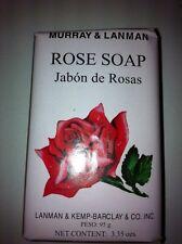 M&L ROSES ROSE BAR SOAP 3.35 OZ. ( JABON DE ROSAS ) IMPORTED FROM PERU