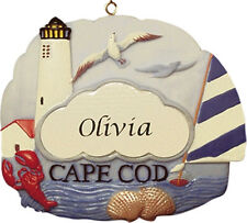 PERSONALIZED CAPE COD ORNAMENT AND MAGNET BY JEANE'S THINGS