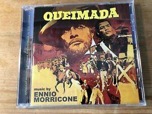 QUEIMADA (Ennio Morricone) OOP 2012 GDM Ltd Expanded Score Soundtrack CD EX