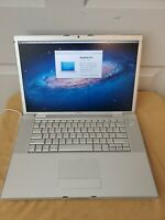 "Apple MacBook Pro A1211 15.4"" Laptop, 4GB (October, 2006)  500GB HD Need battery"