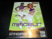 """DVD """"CHALLENGE MINCEUR"""" programme specifique pour un resultat rapide / FITNESS"""